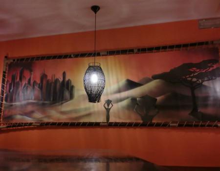 allestimento interno Nero Kaffe Rho (MI)