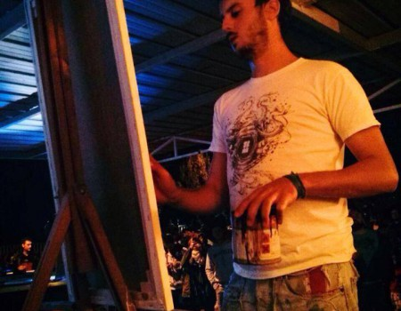 Live Painting sul Palco! BLACK BEAT MOVIMENT